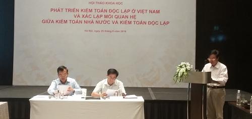 Phát triển kiểm toán độc lập và mối quan hệ với Kiểm toán nhà nước Việt Nam